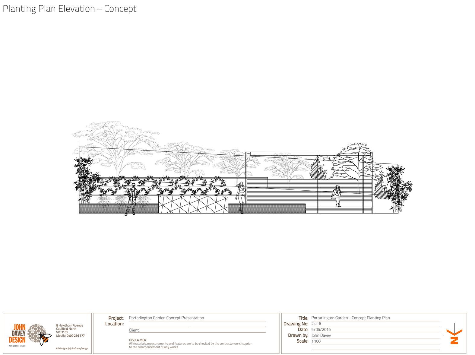 PORTARLINGTON – GARDEN DESIGN CONCEPTS