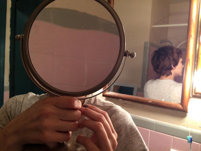 Pink Mirror