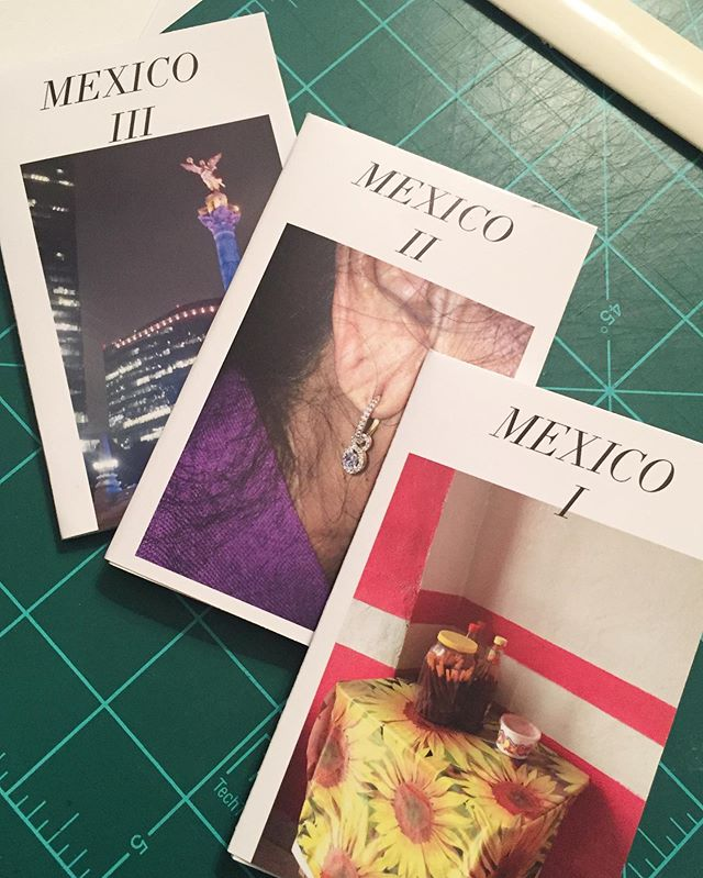 New set of mini-zines! Find these and more rad stuff this Saturday at the OKC ZineFest!  #zine #photozine #okczinefest #mexico #mexicozine #hechoamano #zinephotography #photographybooks #oklahomaartist #contemporaryphotographer