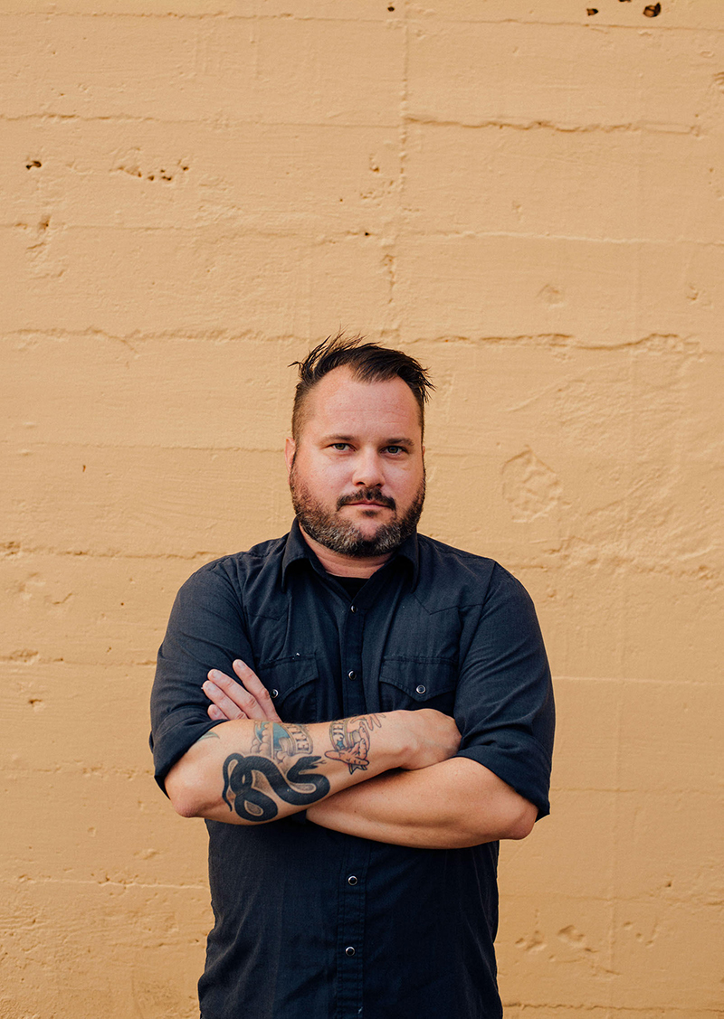 """Don't be a dick to people, stand up for what you believe in and maintain a healthy DIY work ethic."" Matt Pryor"