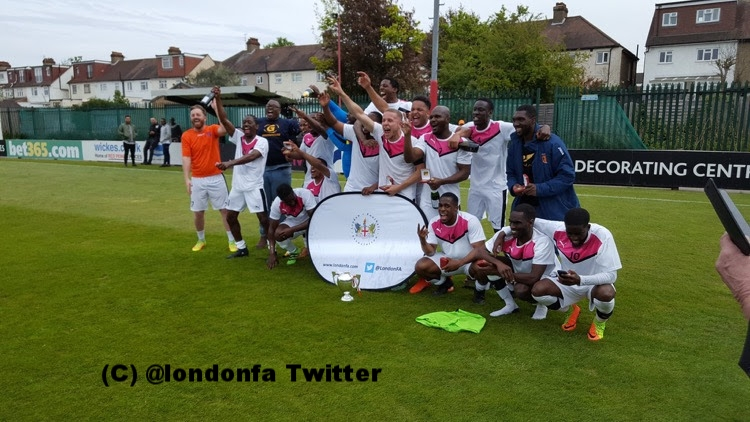 Greenhouse London winners of the London Sunday Junior Cup