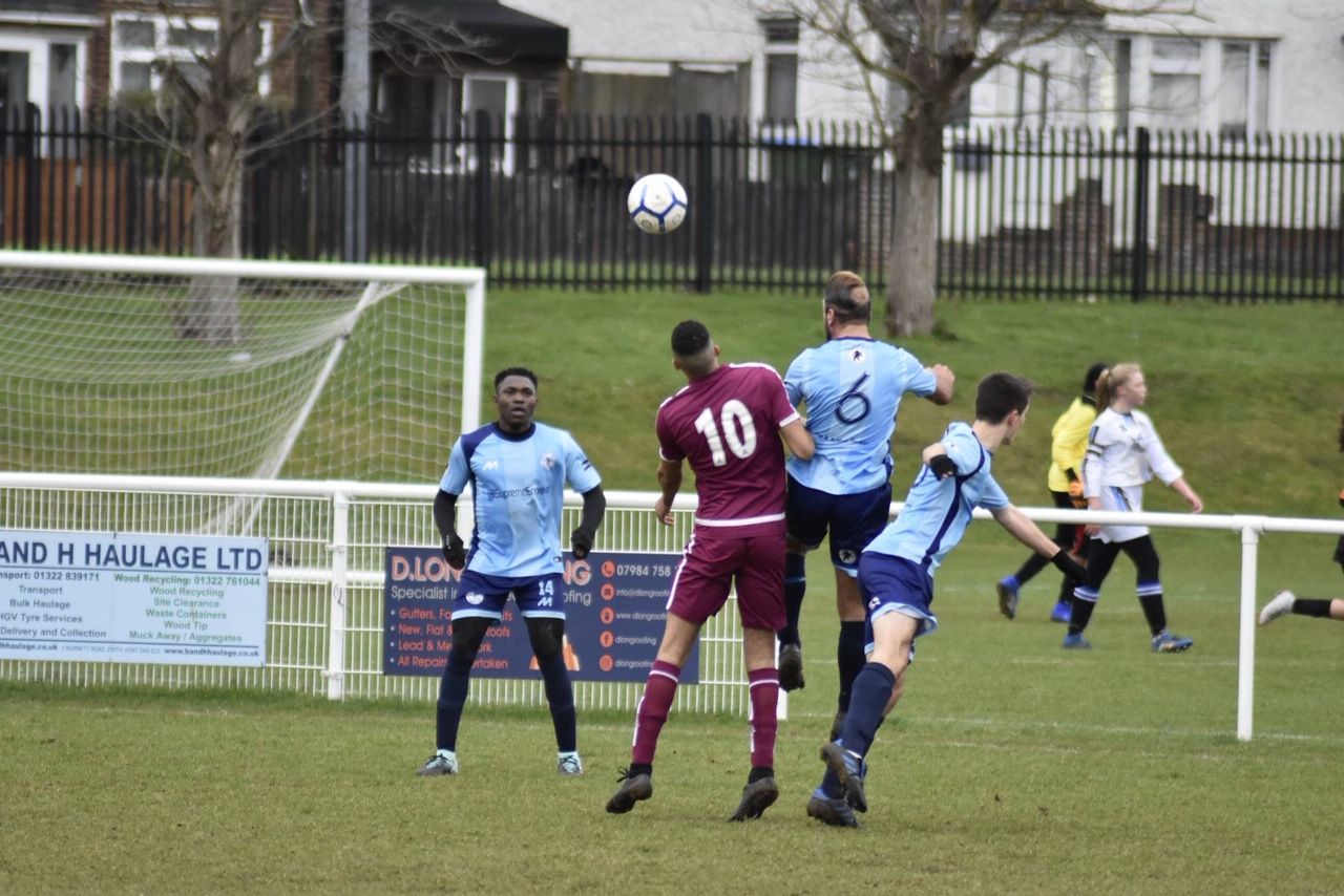 Action from Springhill United's 10-1 win at South East Athletic Maroon (c) Jenny Verrillo