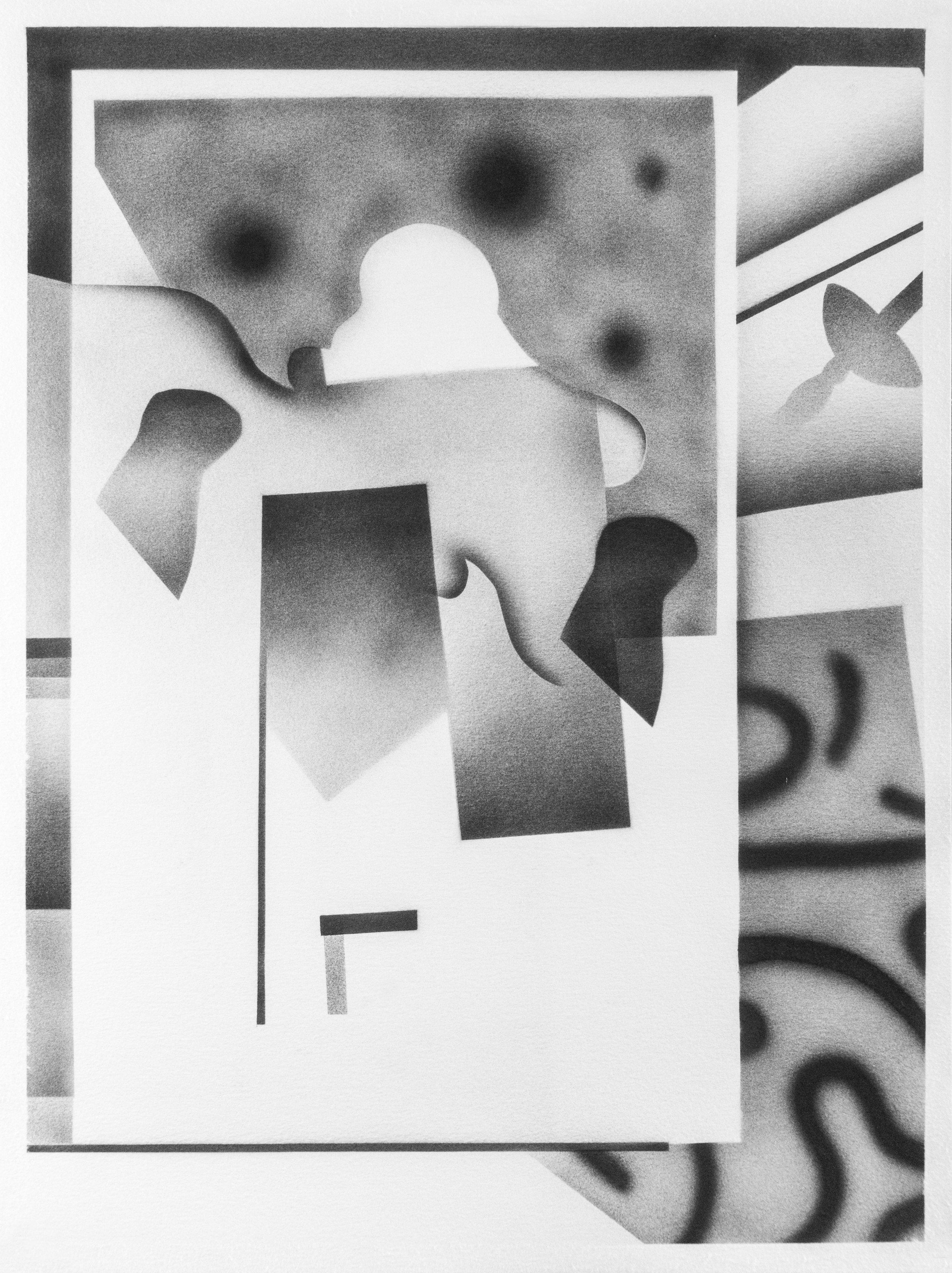 2018, Acrylic on Paper, 32x24cm