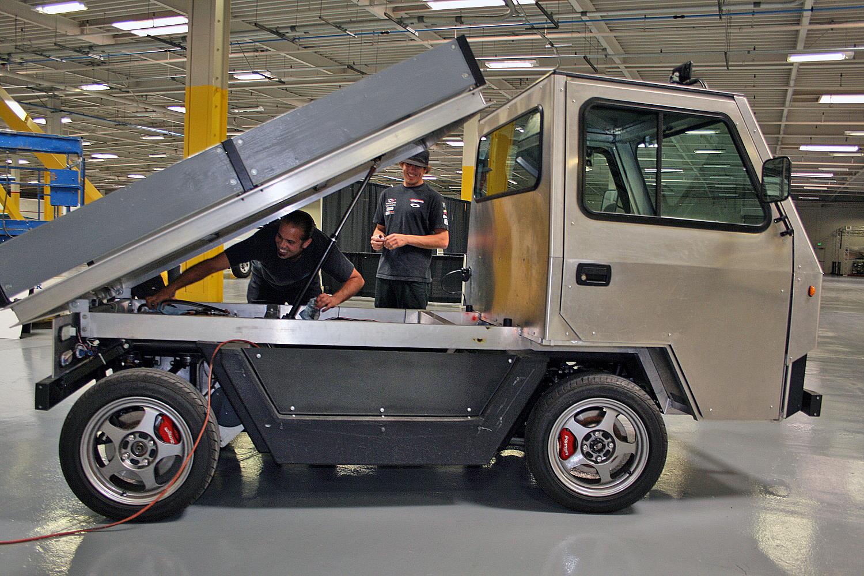EV Municipal Service Vehicle