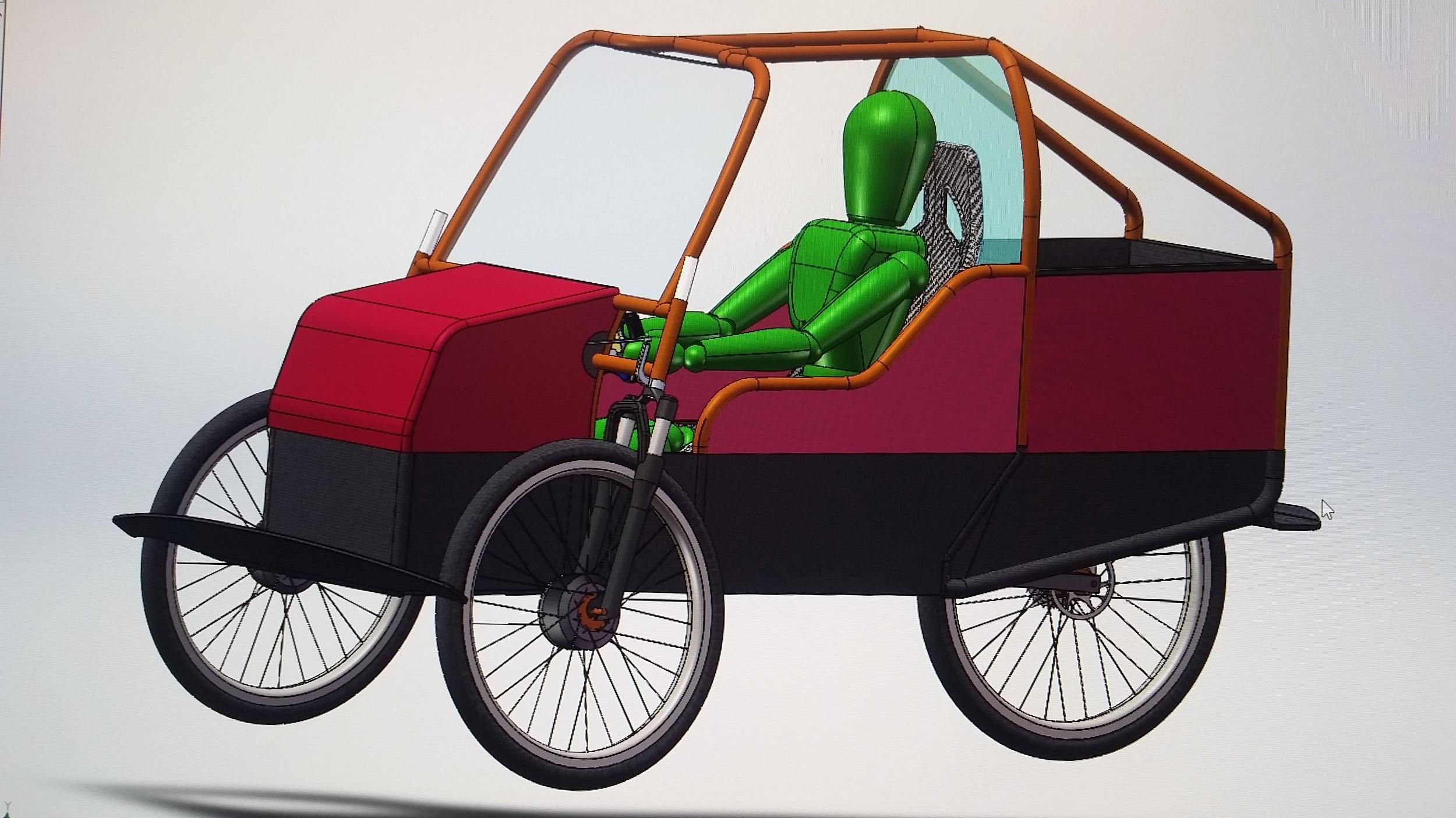 hybrid pedal bike