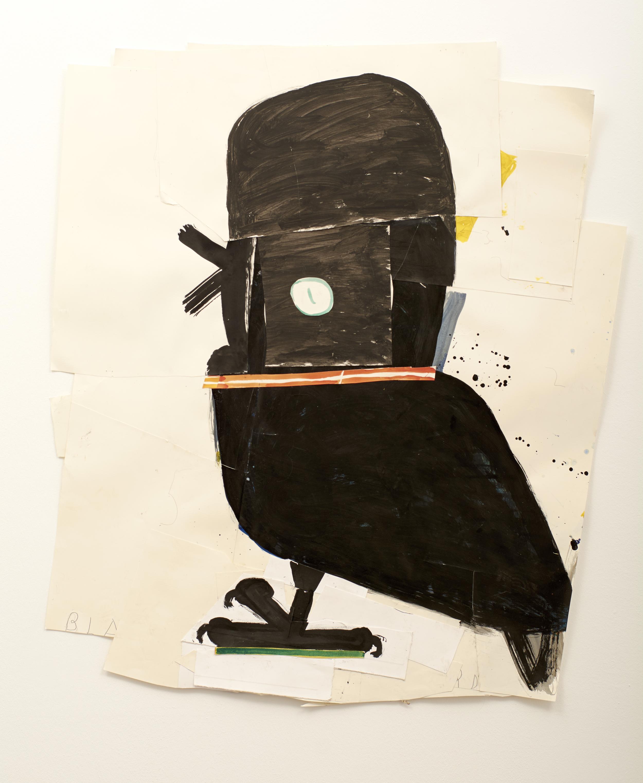 有領子的黑鳥 Blackbird with Collar (2014)