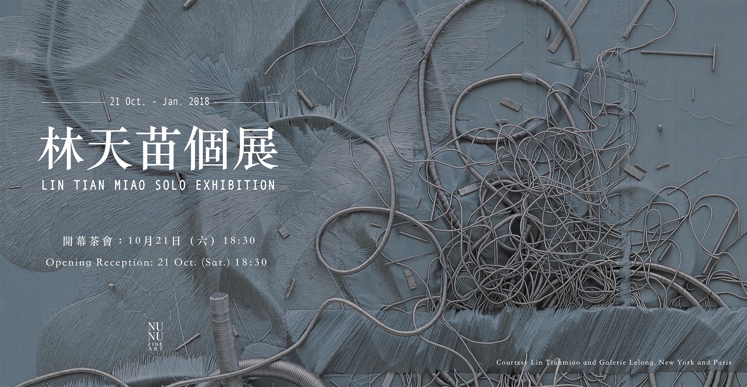 2017/10/21 - 2018/1 林天苗個展 Lin Tianmiao Solo Exhibition