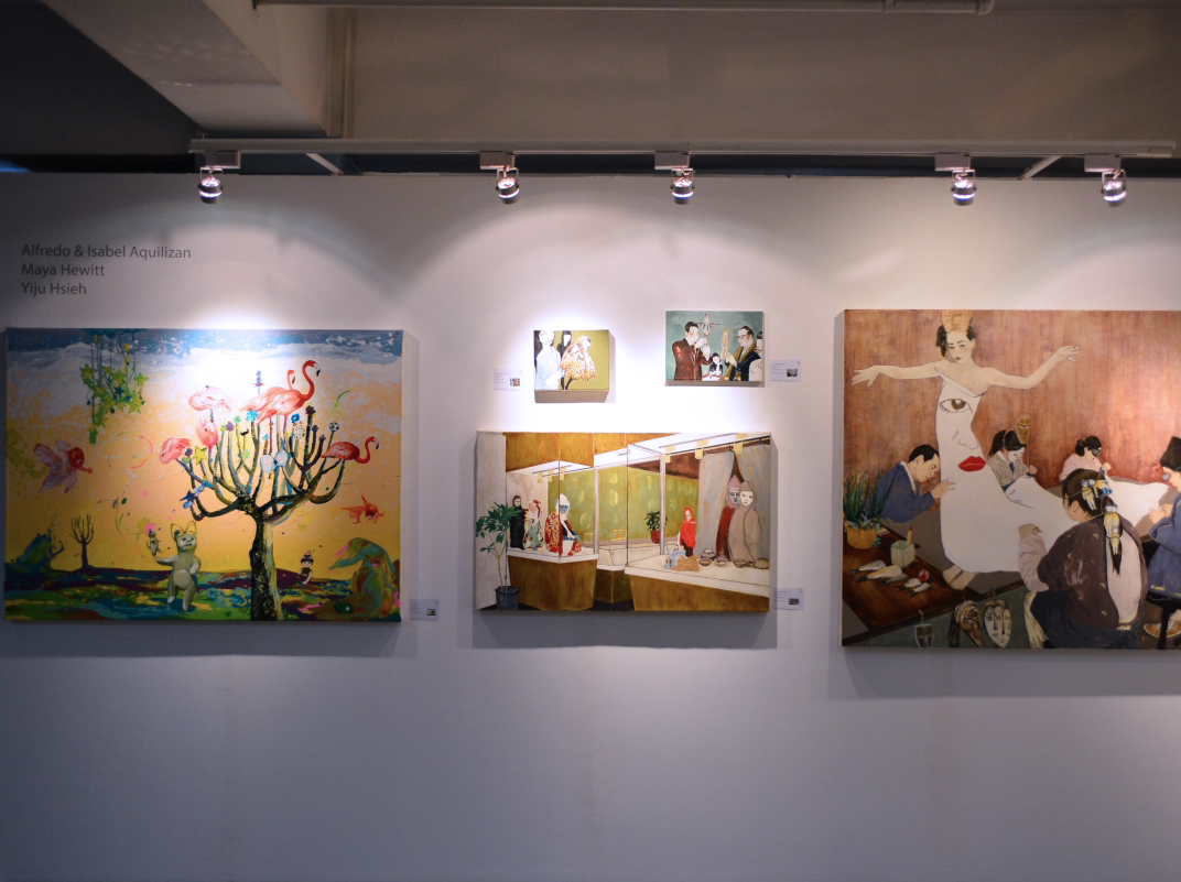Art Fair Philippines 2016.02.18—21   Group | Alfredo & Isabel Aquilizan, Keb Cerda, Maya Hewitt, Yi Ju Hsieh