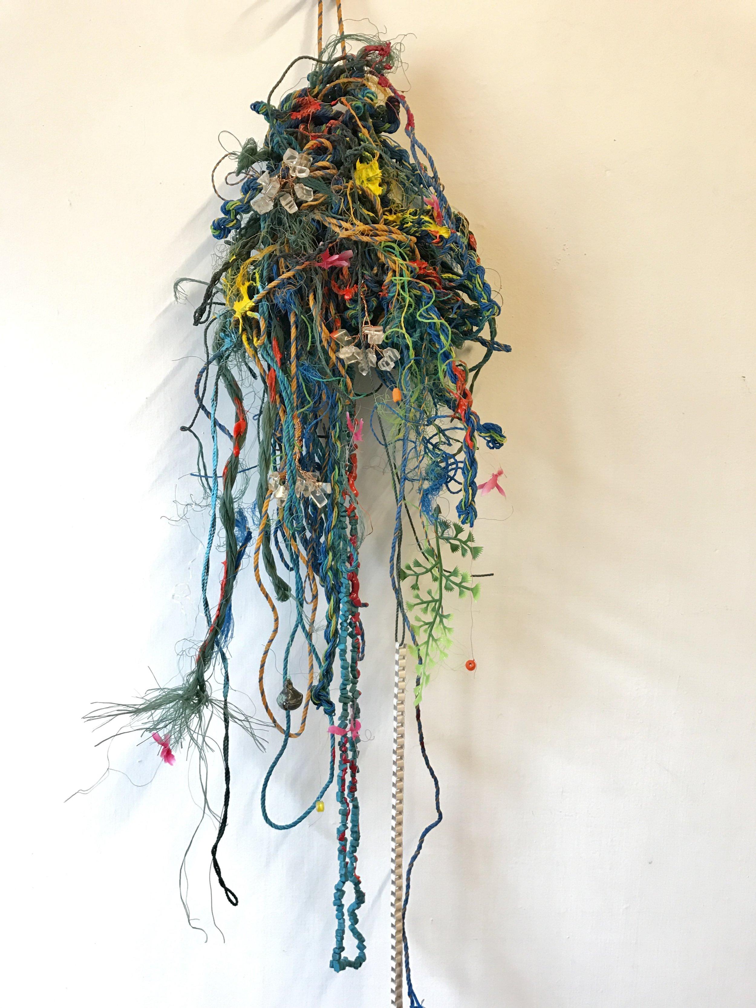 〈祈禱之珠 #1 Prayer Beads #1〉,2018