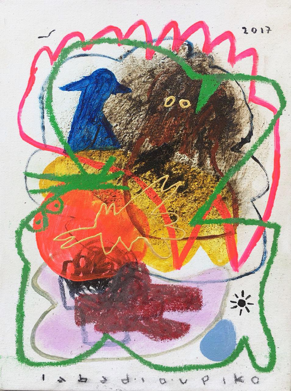 Iabadiou Piko〈Untitled 9〉,2017