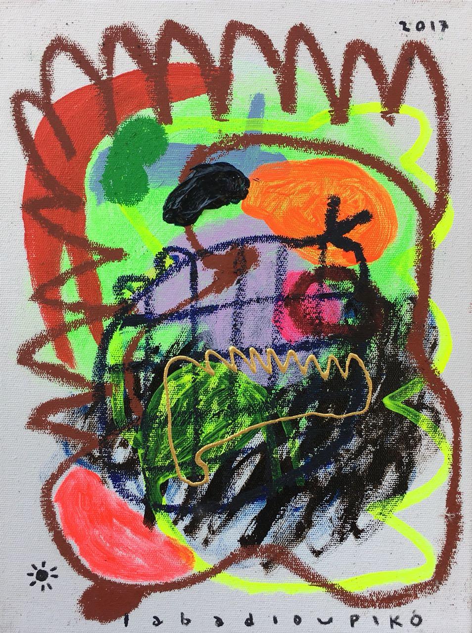 Iabadiou Piko〈Untitled 10〉,2017