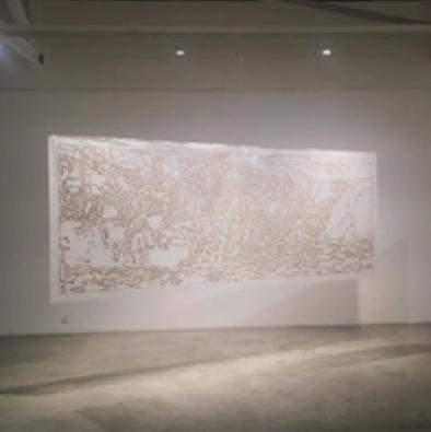 """新加坡泰勒版研究院STPI展出 ─ 阿奎禮贊夫婦 : 碎片與印記   Installation view in """"Alfredo&Isabel Aquilizans: Of Fragments and Impressions"""""""