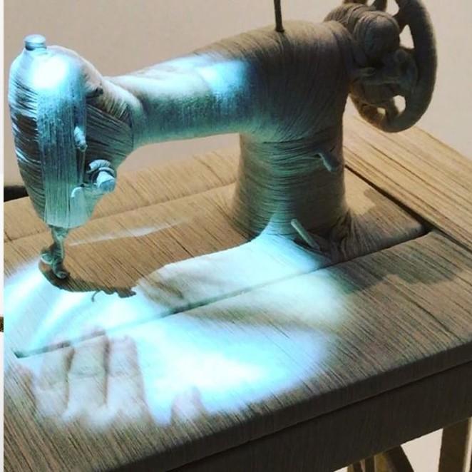 "林天苗受邀紐約古根漢美術館「1989後藝術與中國 : 世界劇場」展覽  Lin Tianmiao participates in ""Art and China after 1989: Theater of the World"" at Guggenheim Museum"