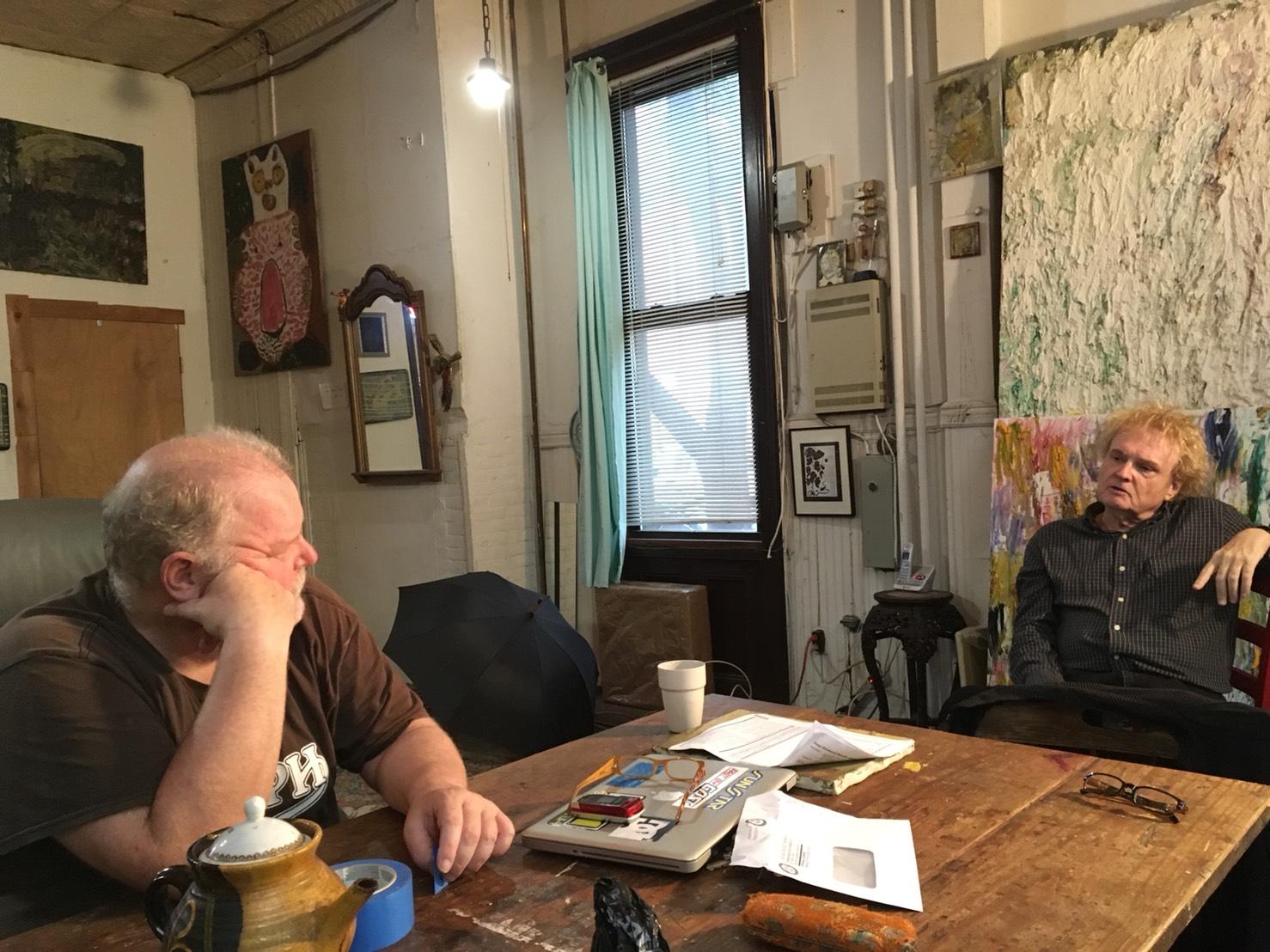 左為狄克森,右為比爾・佩奇  Left: Rodney Dickson, Right: Bill Page