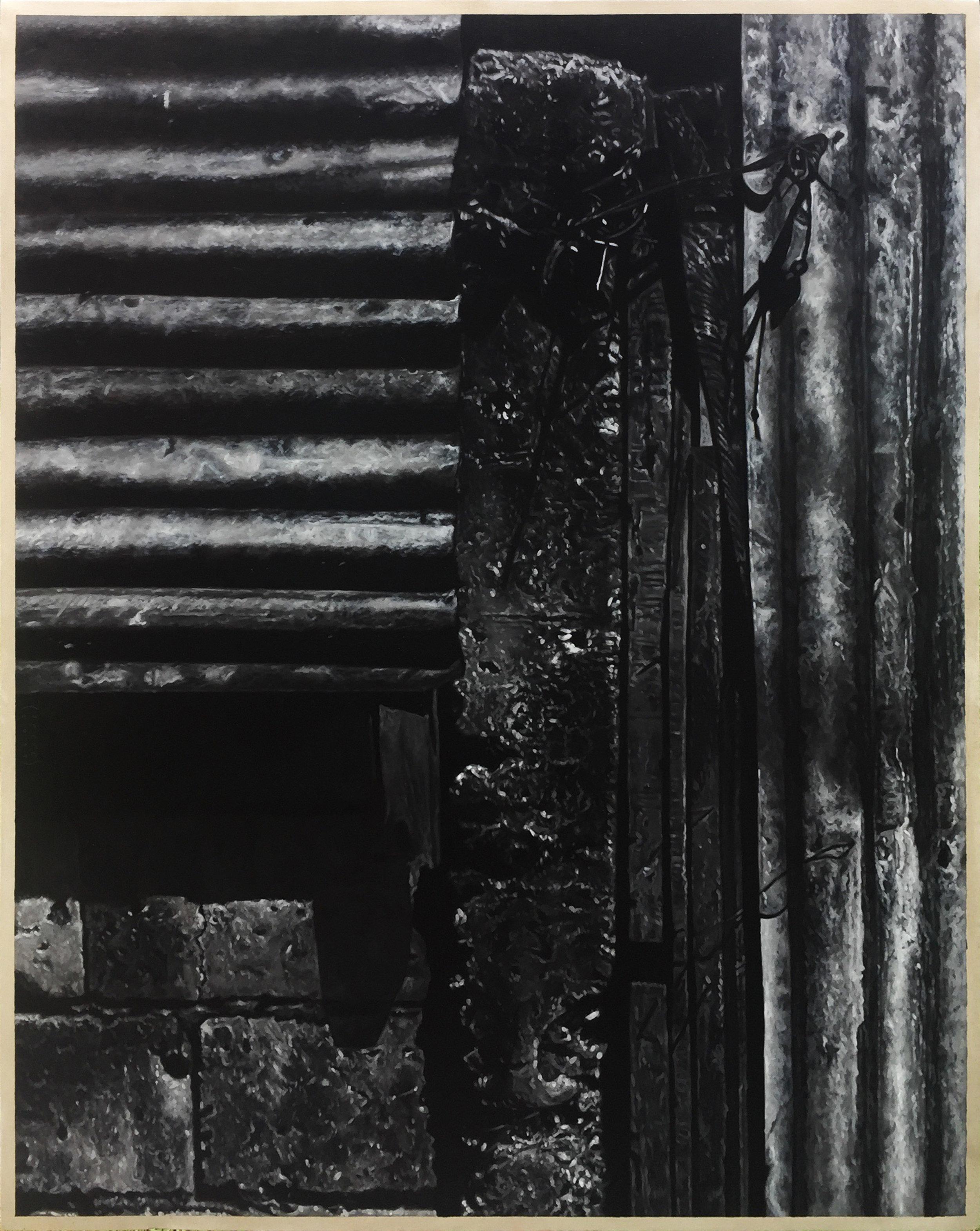 席康・森尼斯 _ Ciron Señeres 〈開與關|Post that open and close〉,油彩於畫布|oil on canvas,152 cmx121 cm|59.5 in x 47.6 in,2019.jpg
