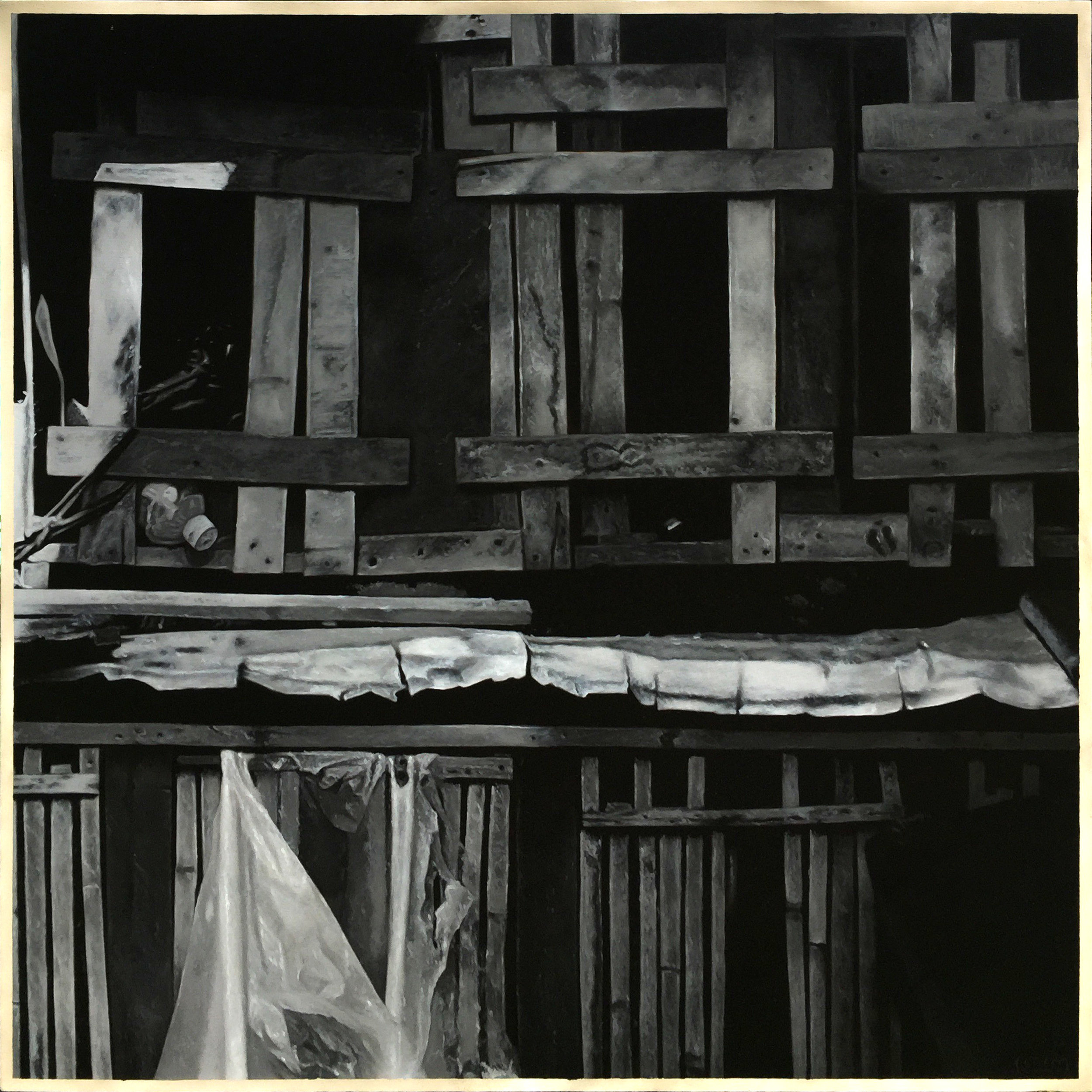 席康・森尼斯 _ Ciron Señeres〈自由|Freedom〉,油彩於畫布|Oil on canvas,152 cm x 152 cm|59.8 in x 59.8 in,2019.jpg