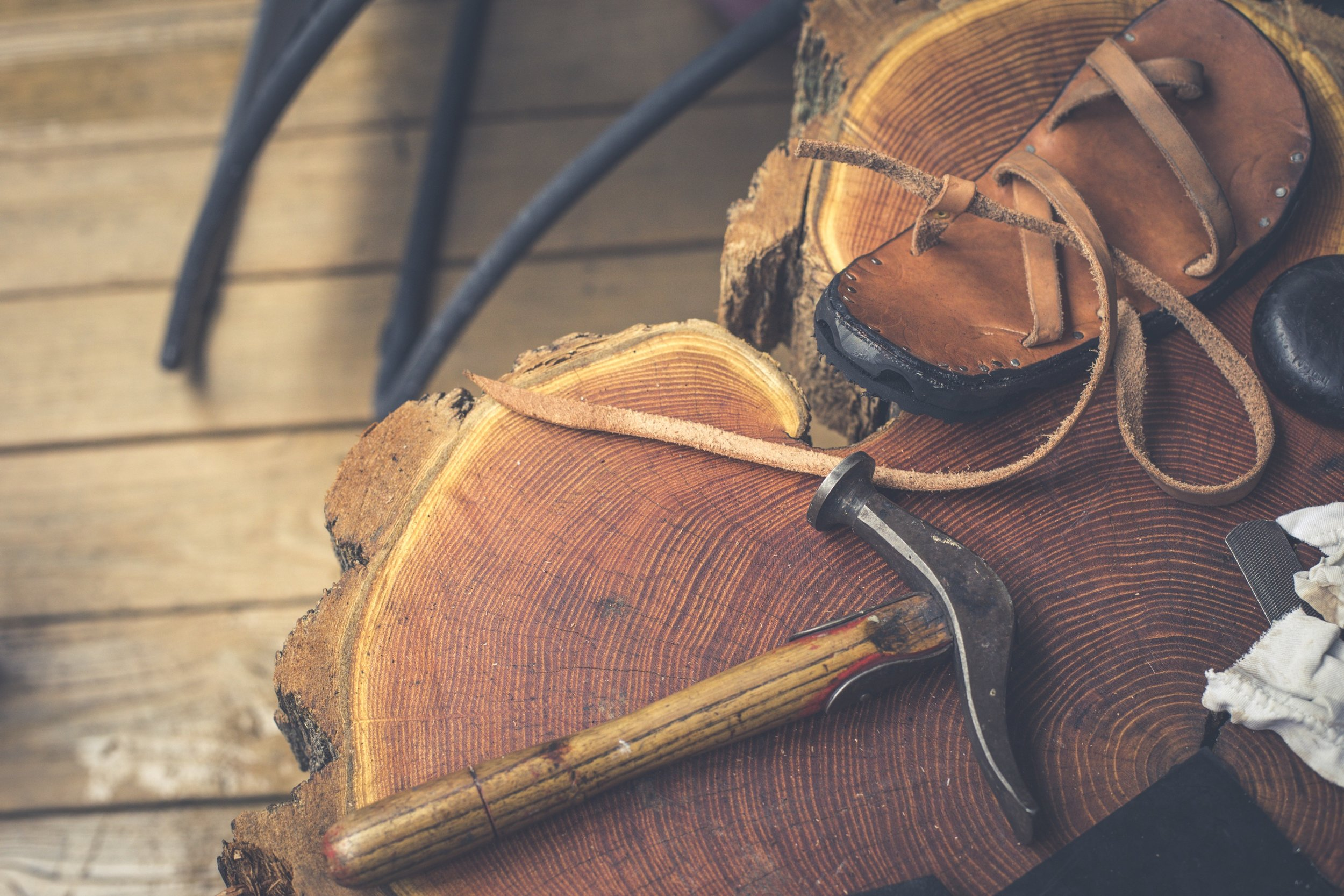 A little story about handmade shoes and the marks of a maker.