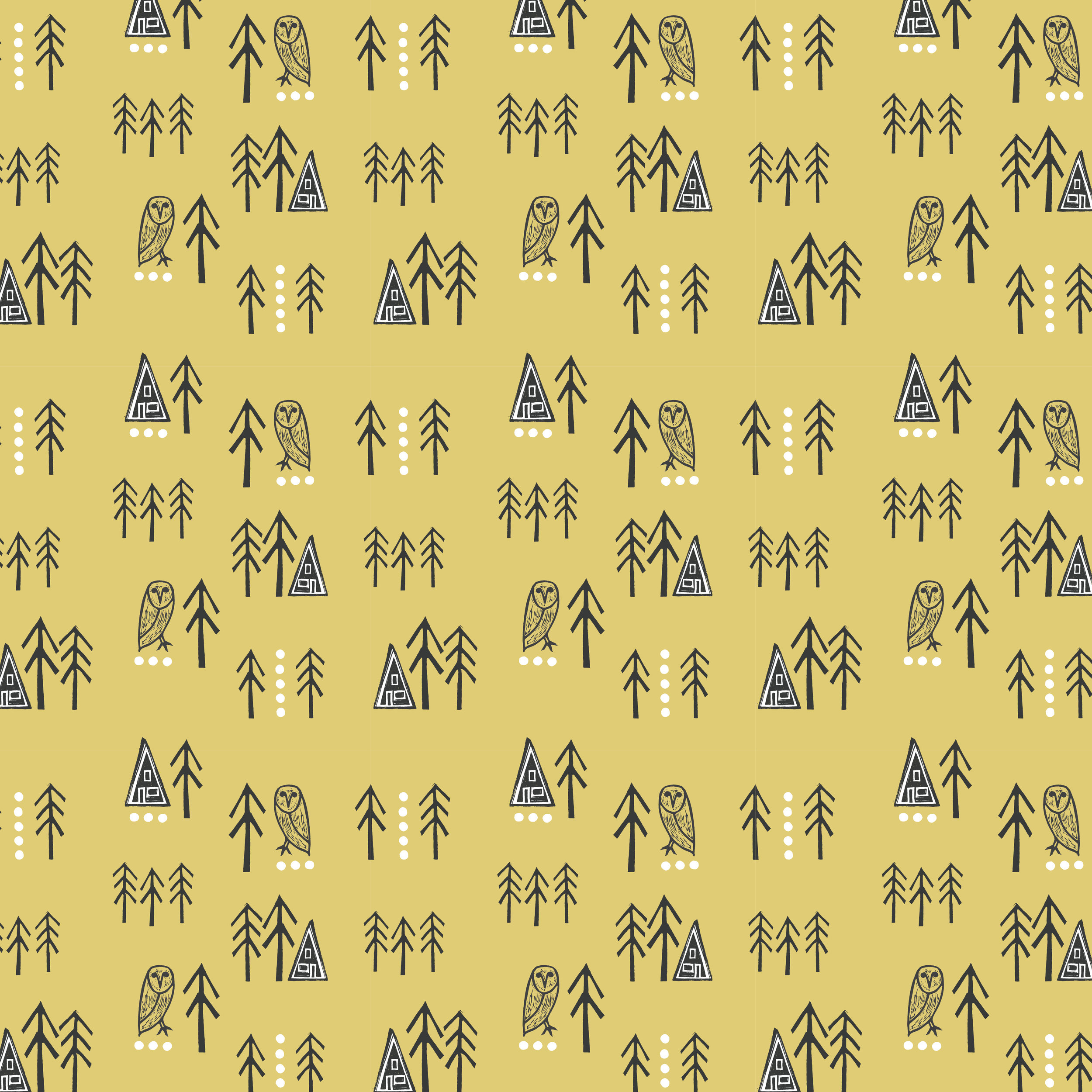 Cabin Life pattern_gold_for proofing.jpg