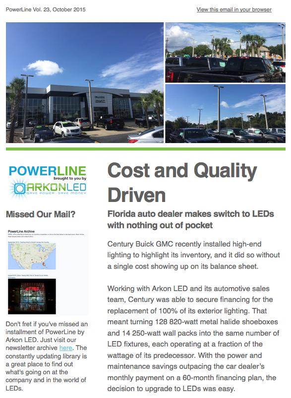Arkon LED's PowerLine