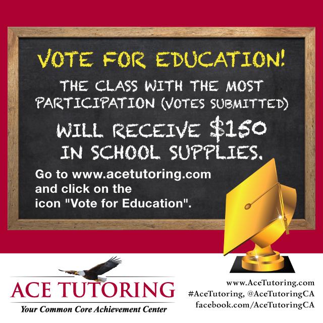 ACE Tutoring - Teacher Appreciation Contest
