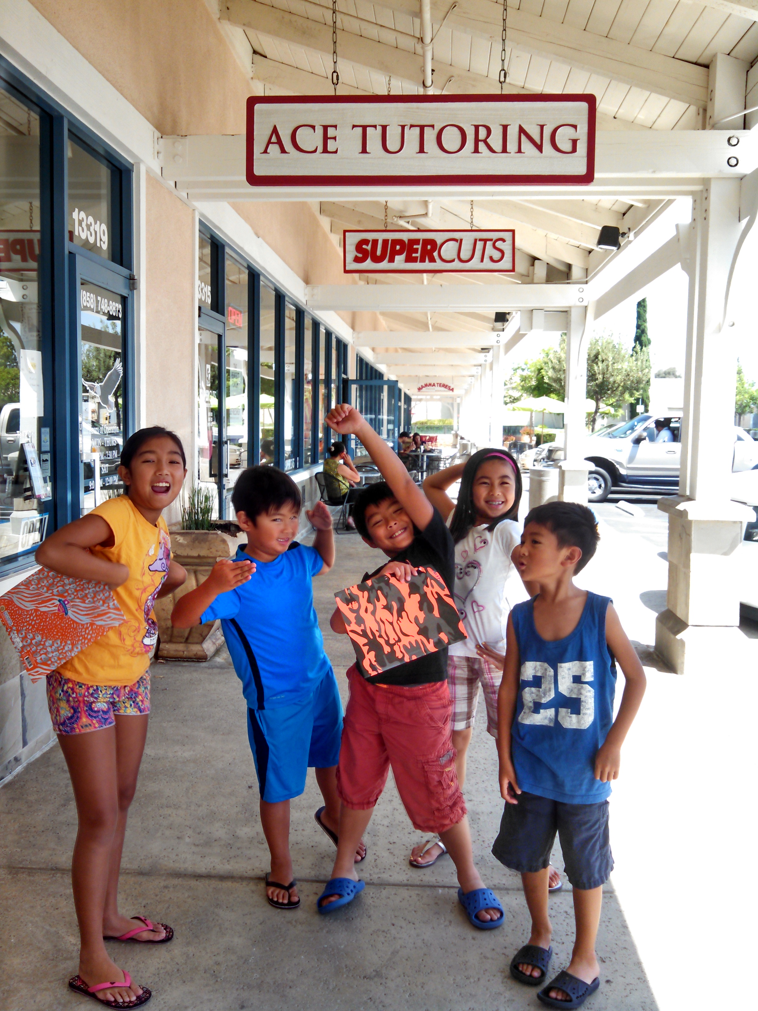 ACE Tutoring San Marcos & ACE Tutoring Poway - 2016 Summer Camp
