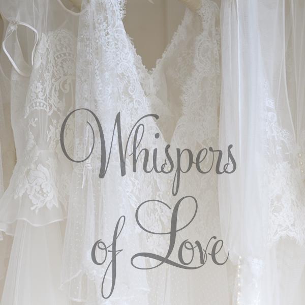 Sarah Willard Whispers of Love Wedding Dress Collection