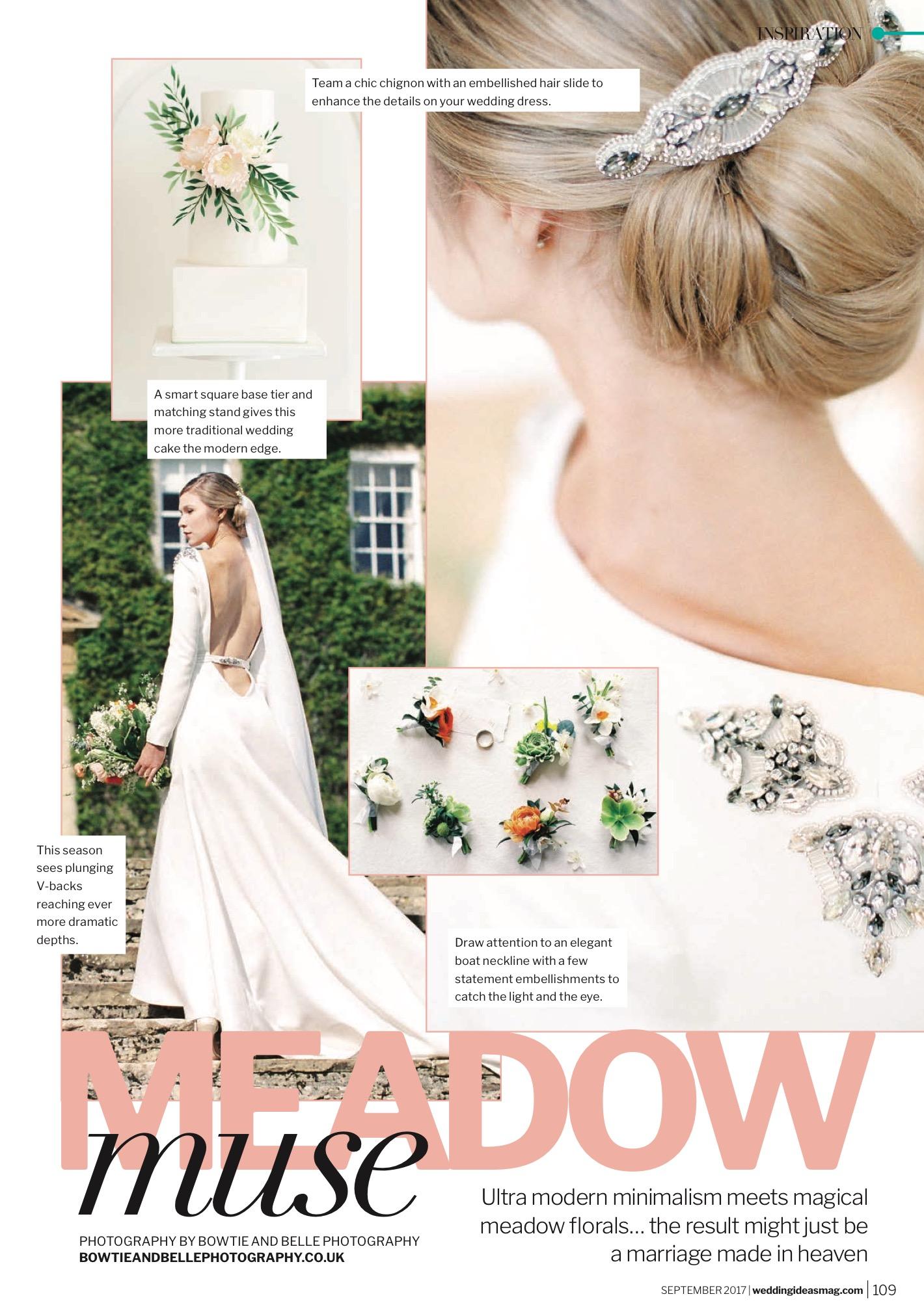 The Fine Art Wedding Boutique In Wedding Ideas Magazine Sarah Willard Couture