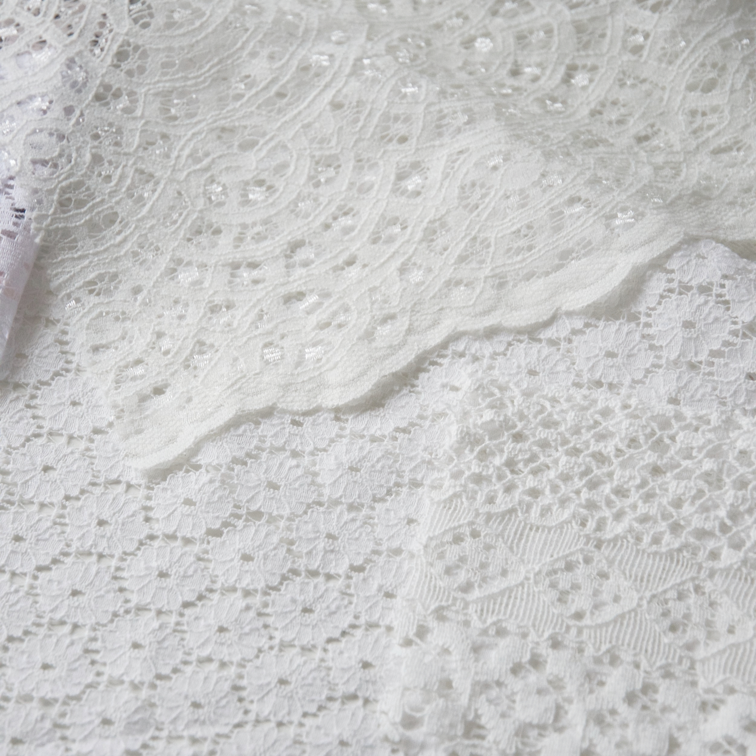 Geometric lace designs