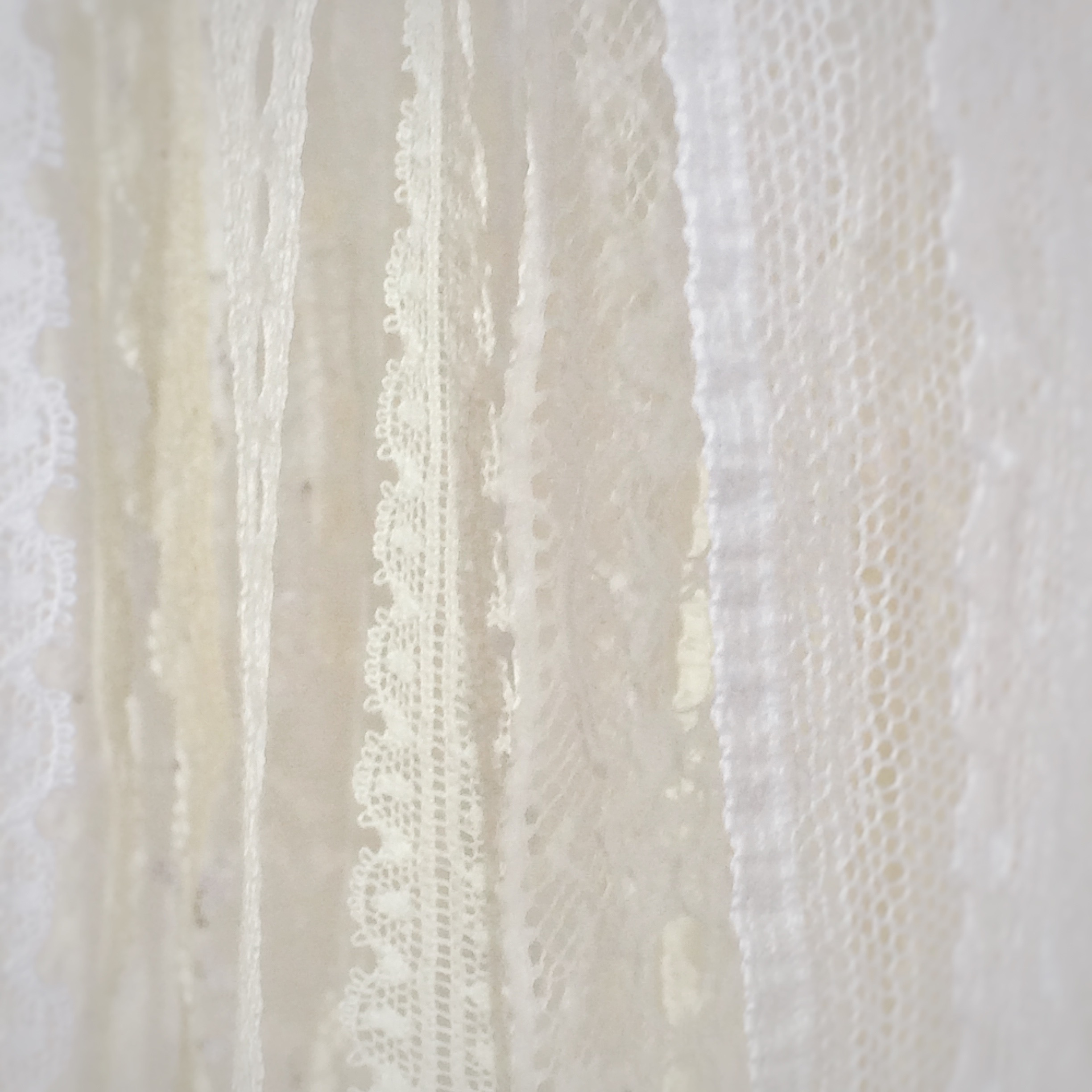 Cluny lace edgings