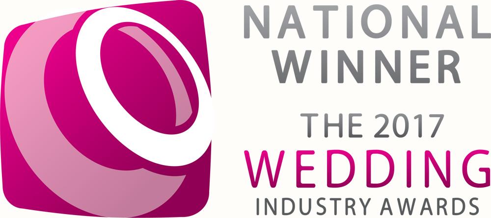 National Winner The Wedding Industry Awards