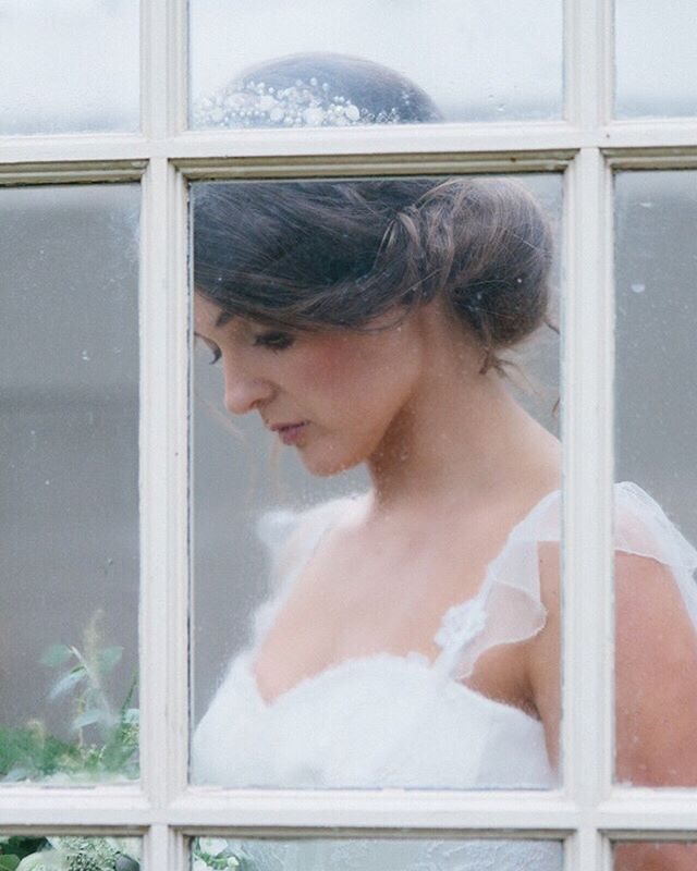 "The most romantic bridal style...⠀ ⠀ ⠀ ""Meadow""  in silk crepe, with a corseted bodice overlaid with French Chantilly lace, a softly gathered tulle skirt and ruffled straps. ⠀ ⠀ ⠀ Image @jadeosbornephotography  Bouquet @flowersbybreige⠀ Headdress @clarelloydaccessories⠀ Hair @gillian_kreativehairdressing⠀ Make up @sarahdunnmua ⠀ *⠀ *⠀ *⠀ *⠀ *⠀ #bridalstyle #couture #bridalcouture #bridaldesigner #elegantbridalgown #weddingdressmaker #findmyweddingdress #silkweddingdress #romanticbride #countrywedding #madeforme #madetomeasure #madewithlove #bridalcouturier #sarahwillardcouture #staffordshirebride #shropshirewedding #weddingphotography #vintageweddingstyle #thatsdarling #countrywedding #smallmomentsofcalm #bridalcollection  #laceweddingdress #pursuepretty #bride2020"