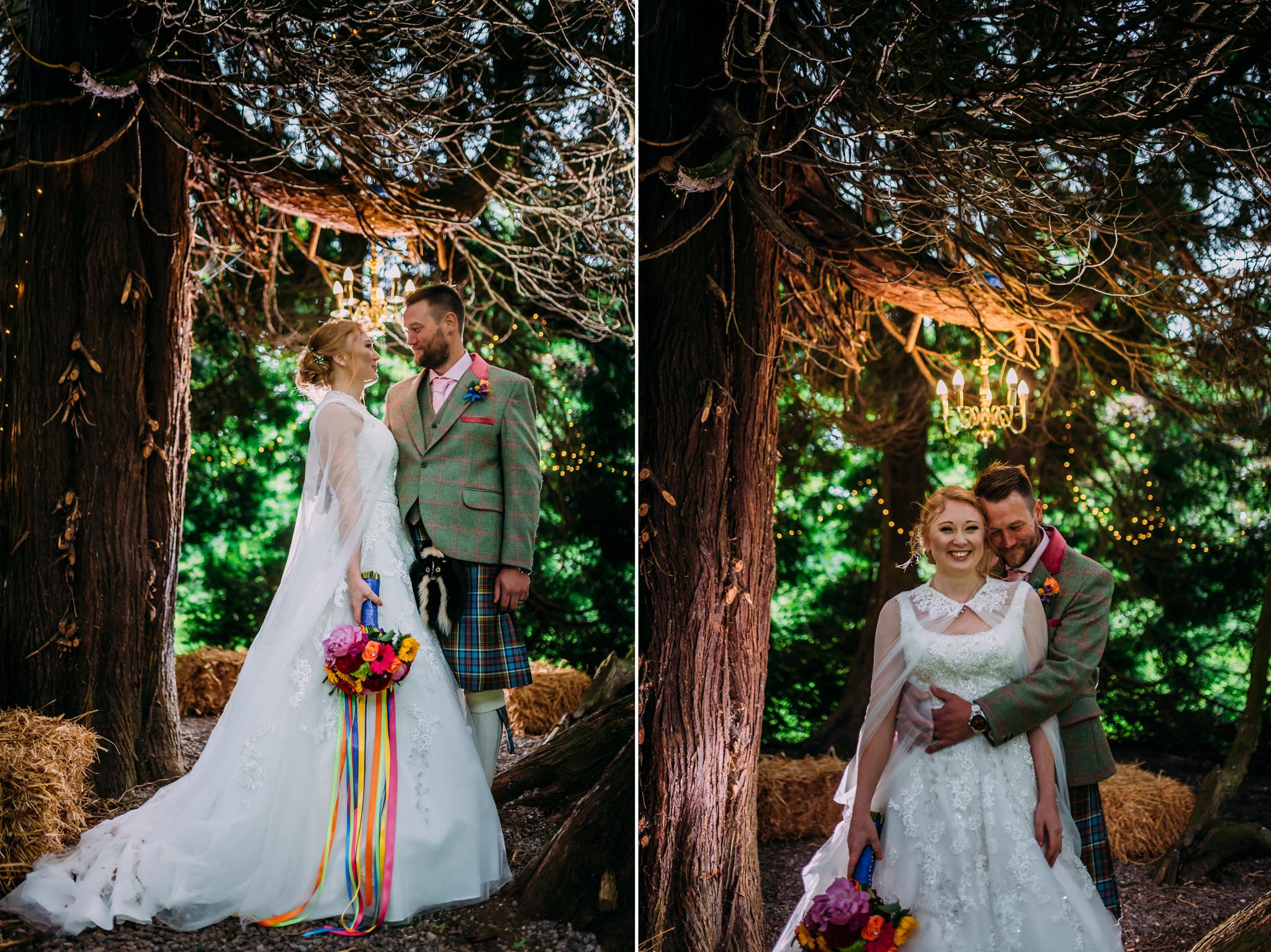 Bridal Make Up for Tullibole Castle Wedding