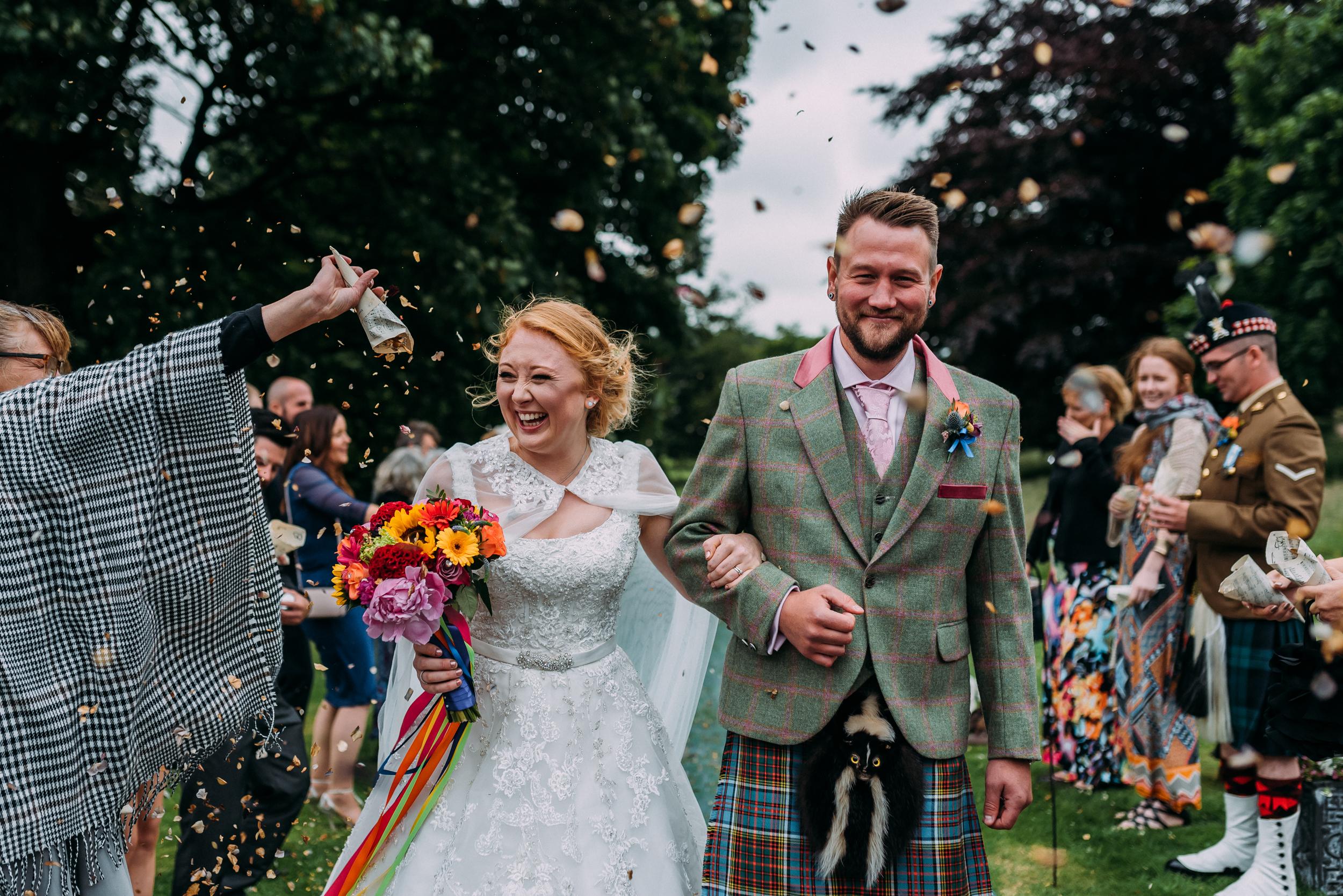 Bridal Make Up | Tullibole Castle | Rave Wedding