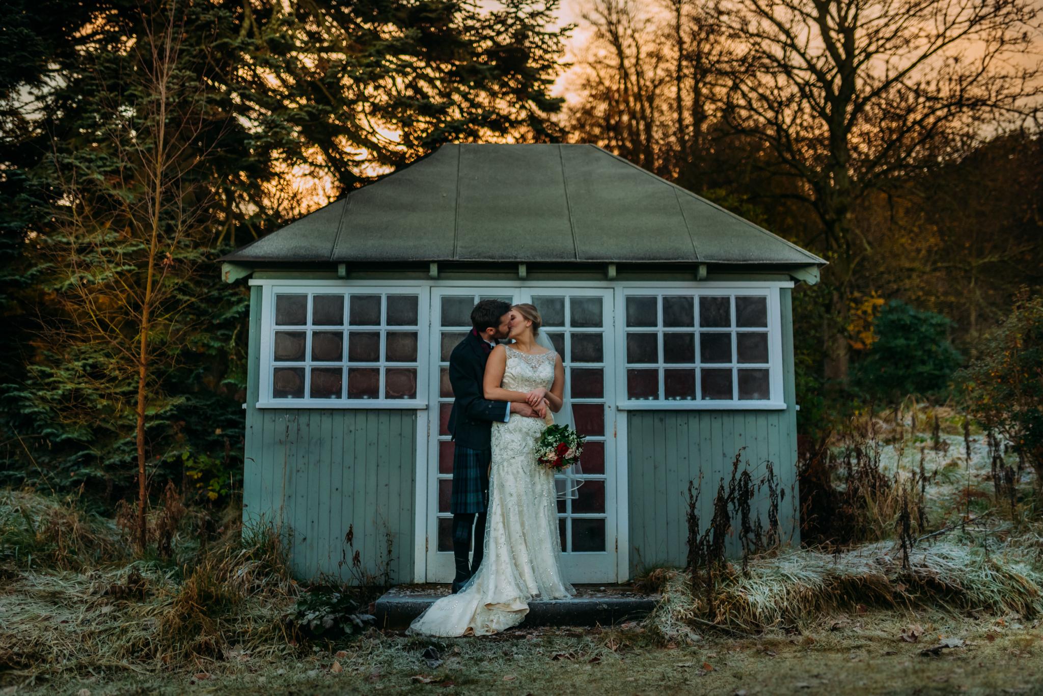 Scottish Winter Wedding || Photo by  Burfly Photography