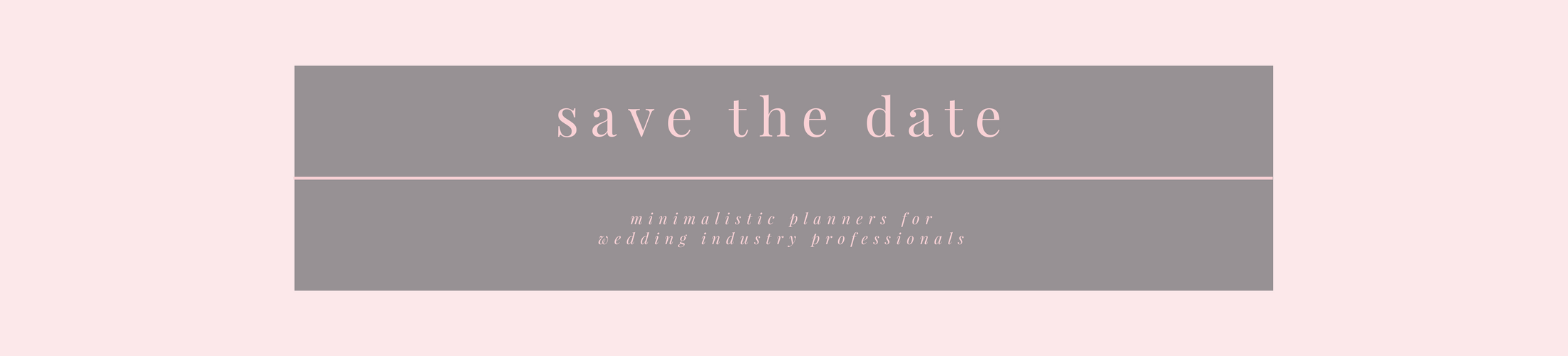 Planner inserts for Wedding Industry Professionals by Save the Date