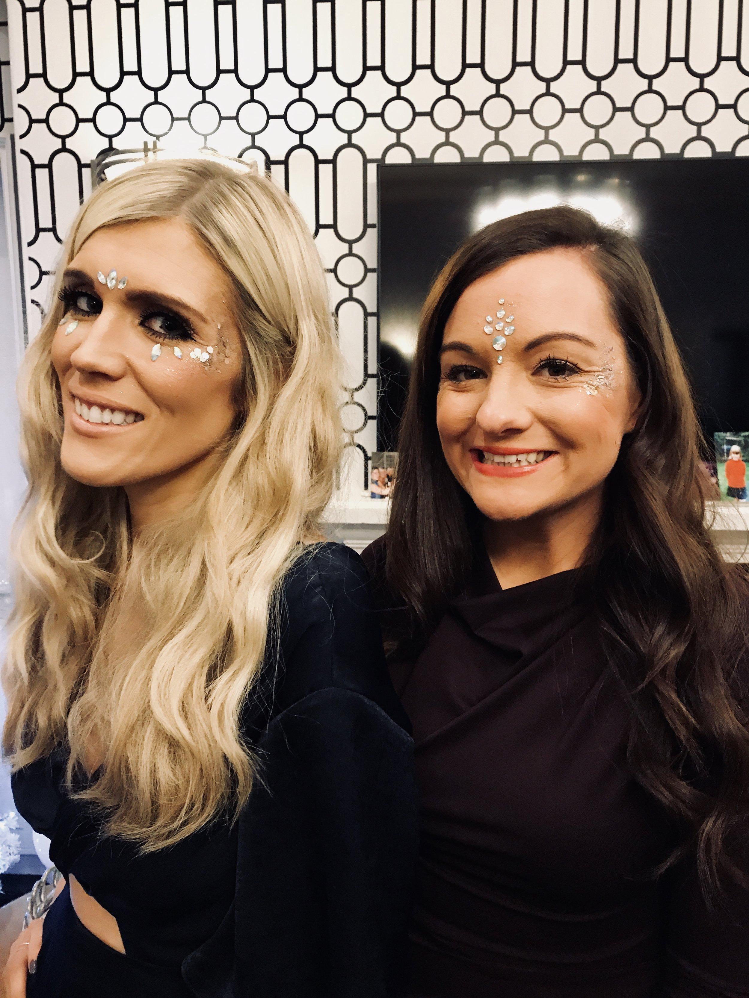 Glitter Bar Hen Party in Edinburgh by Sophie Alexis Make Up