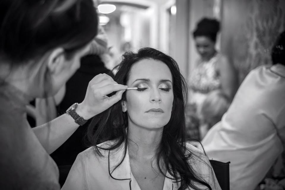 Natural Bridal Make up for Fonab Castle bride