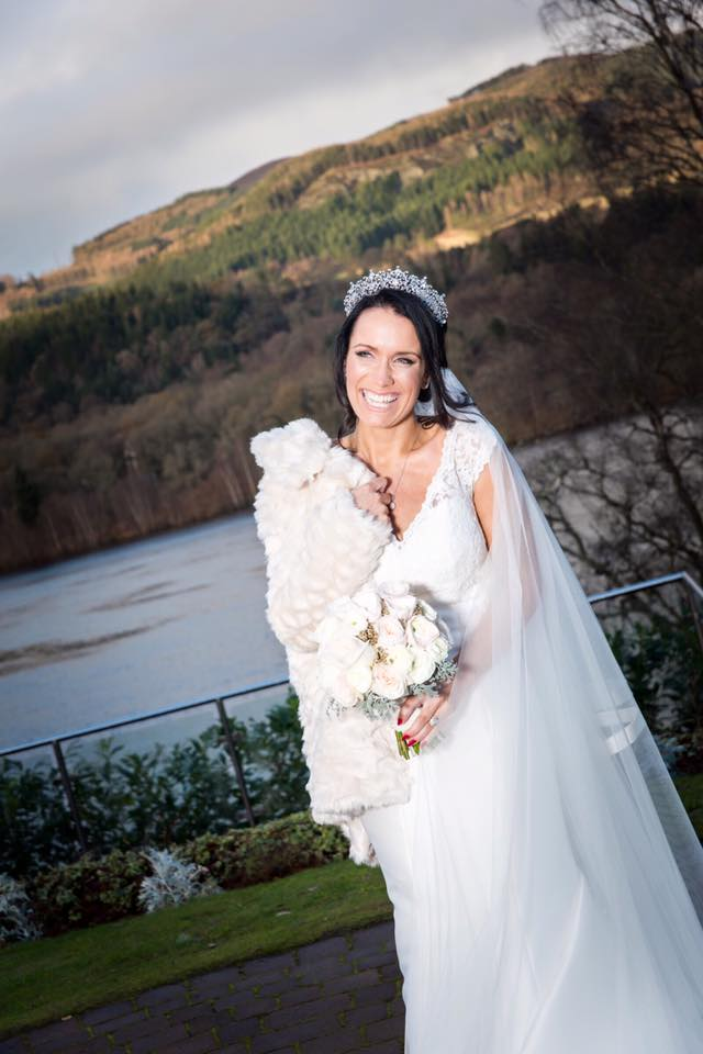 Scottish Highlands wedding make up