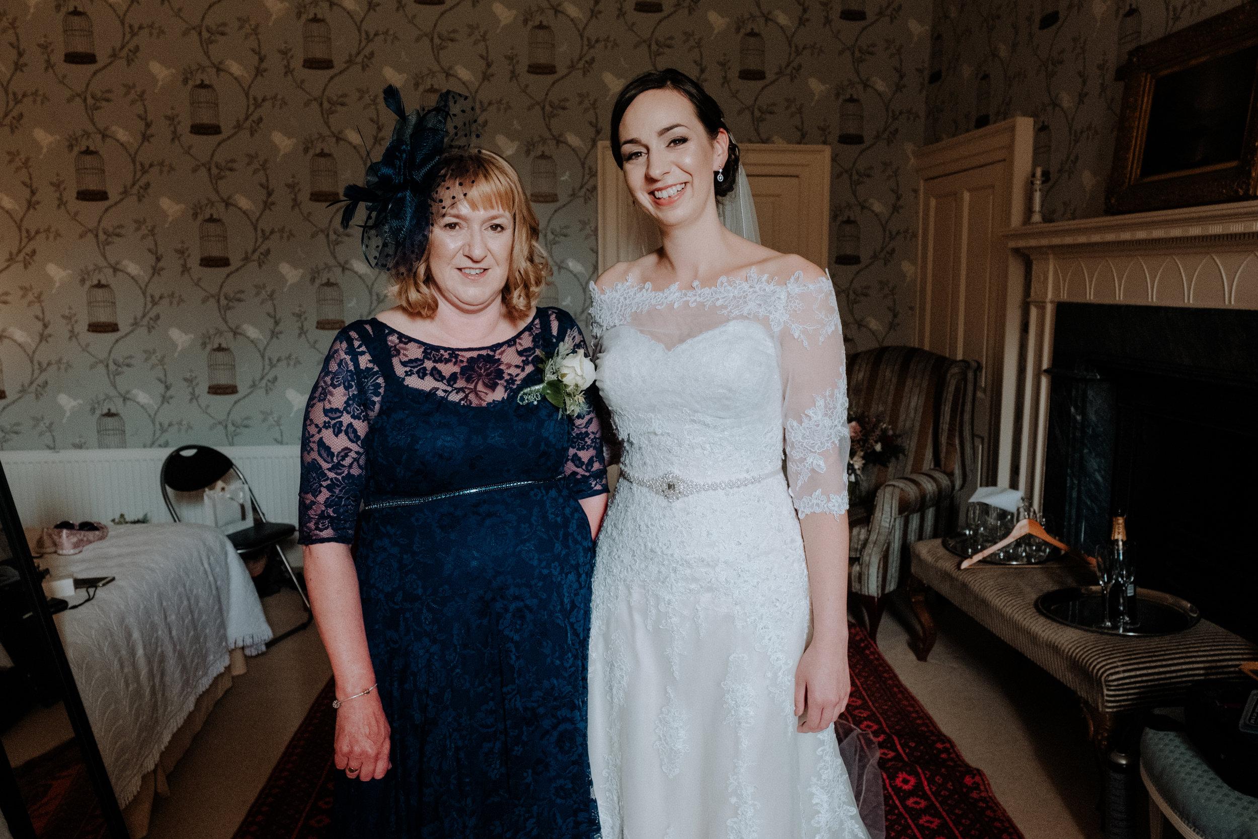 Bridal Make Up for a Scottish Castle wedding