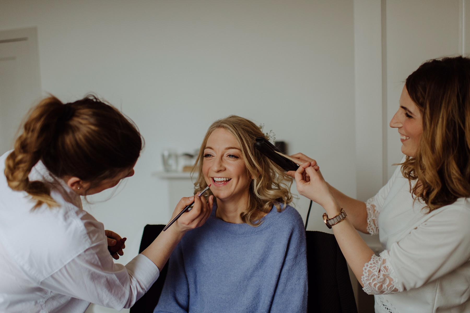 Bridal Make Up for Scottish Wedding