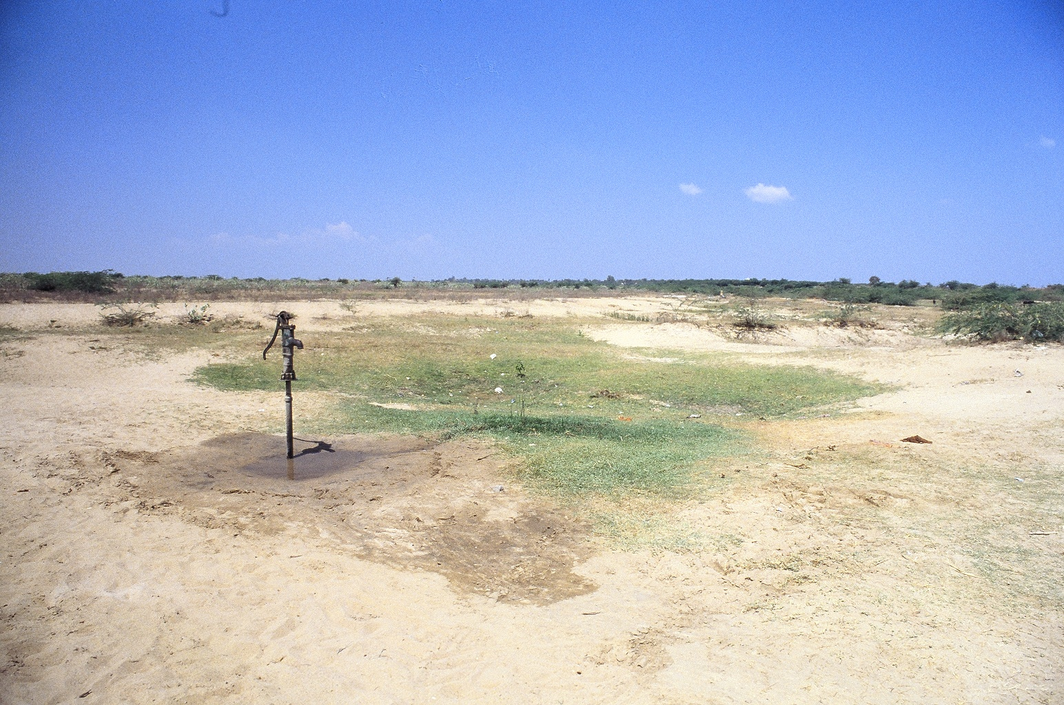 Kothapeta before FRANK Water installed a safe water project.