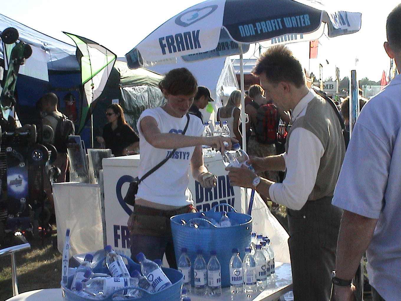 Selling water in Bristol