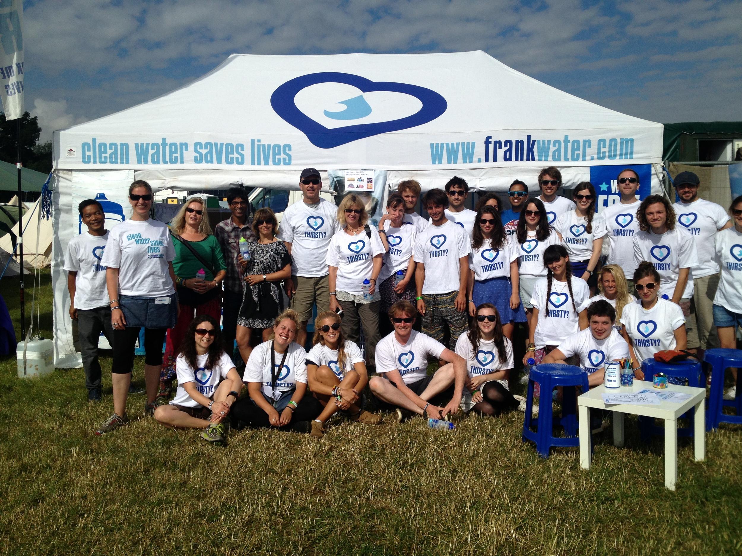 FreeFill team at WOMAD 2013.JPG