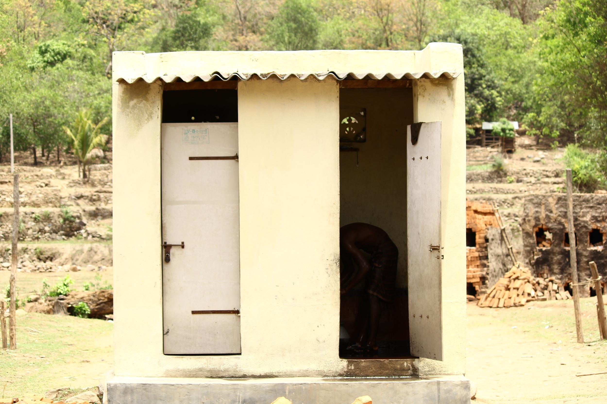Toilet and bathing room at Rubudisingh