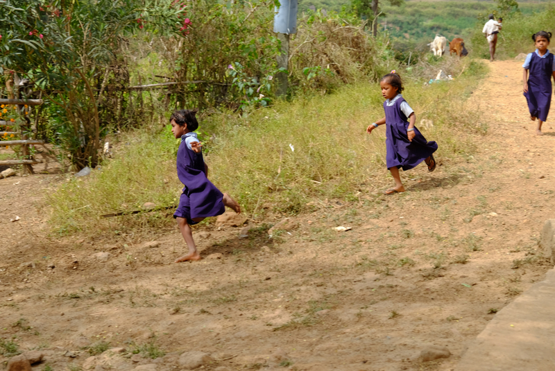 Sanni's children attend school now that they no longer need to fetch water every day.