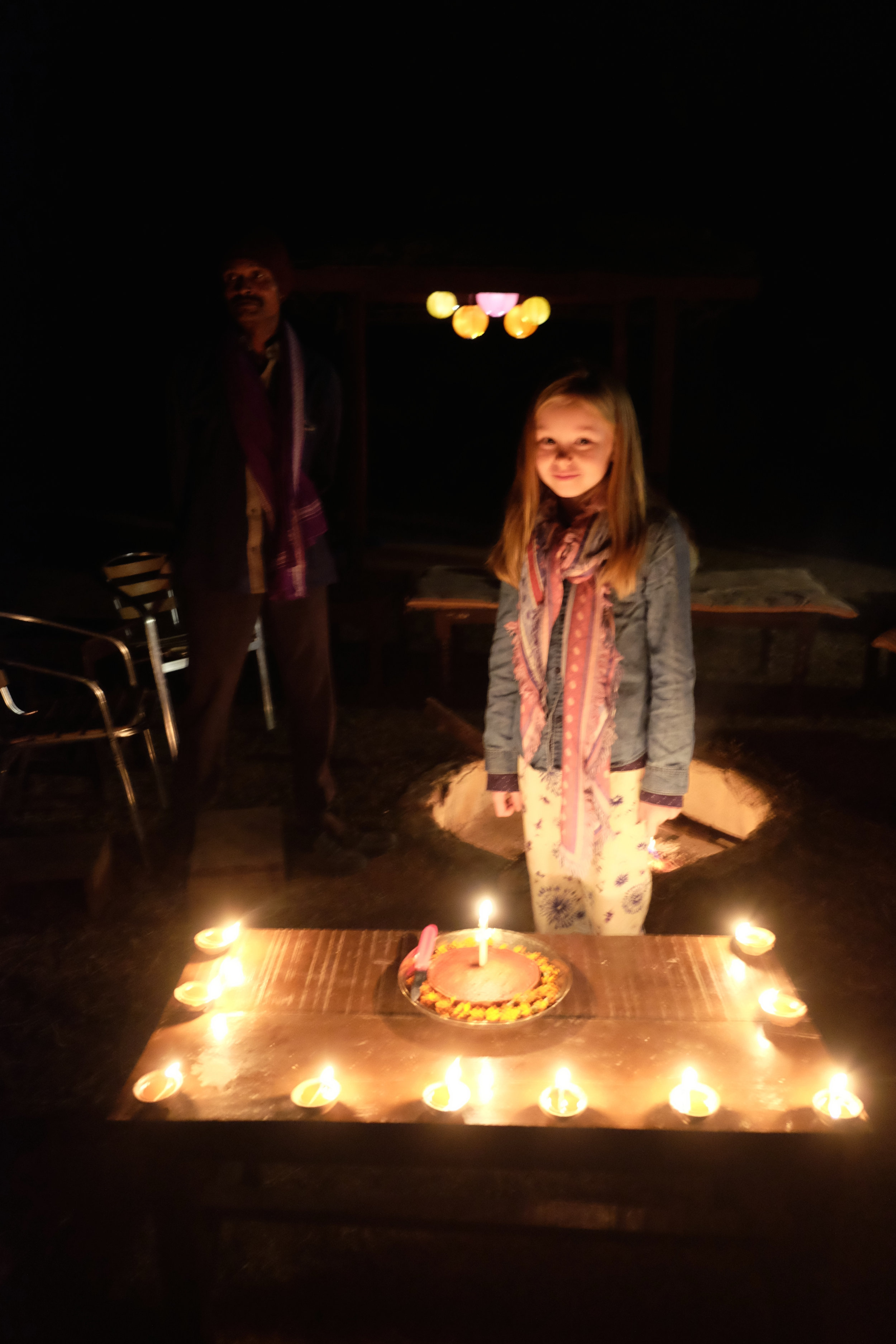 Amelia celebrates her 9th birthday in India!
