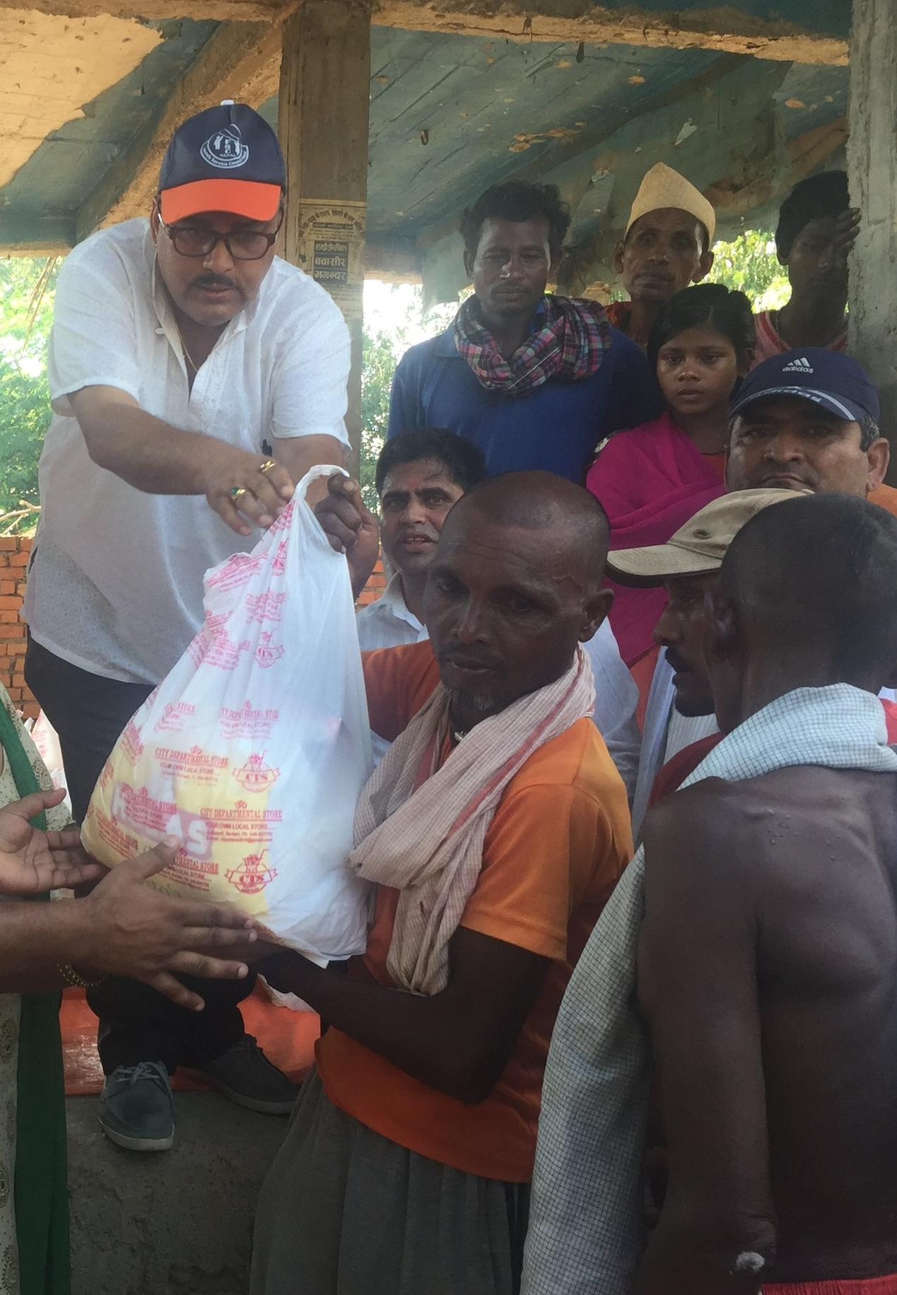 Relief parcels distributed among flood-affected communities