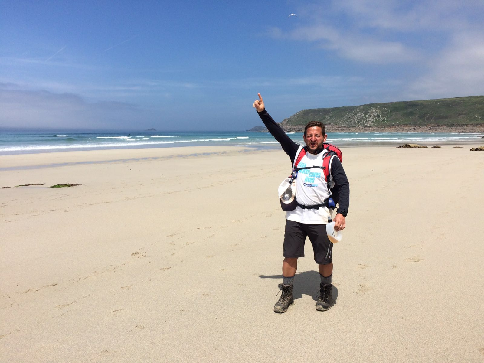 Jim Dorman walks the SW Coastal path for FRANK Water