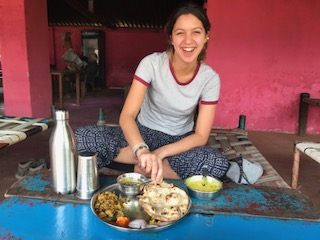 delicious food at bhoramdeo jungle retreat