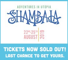 Online bids now open - for one special prize only! - If you can't be with us on the night, we're offering you the chance to bag two weekend tickets for the unrivalled and completely sold-out Shambala Festival (22nd - 25th August, 2019).Includes camping. RRP £398To bid online, please email sophie@frankwater.com with your name and your top bid. This will be included in bidding on the night.